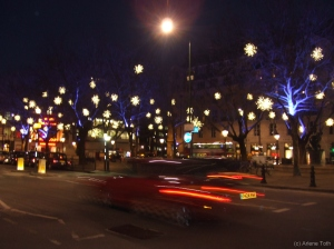 Sloane Square at Night