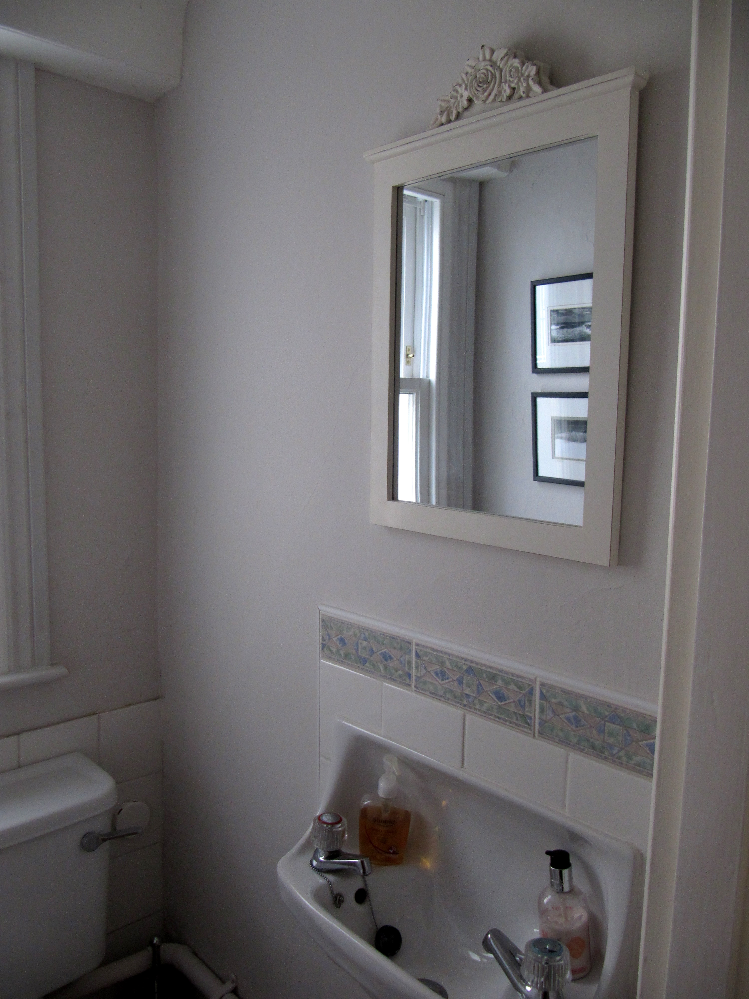 Bathroom with no windows - Decorating Update And How To Heal A Broken Heart
