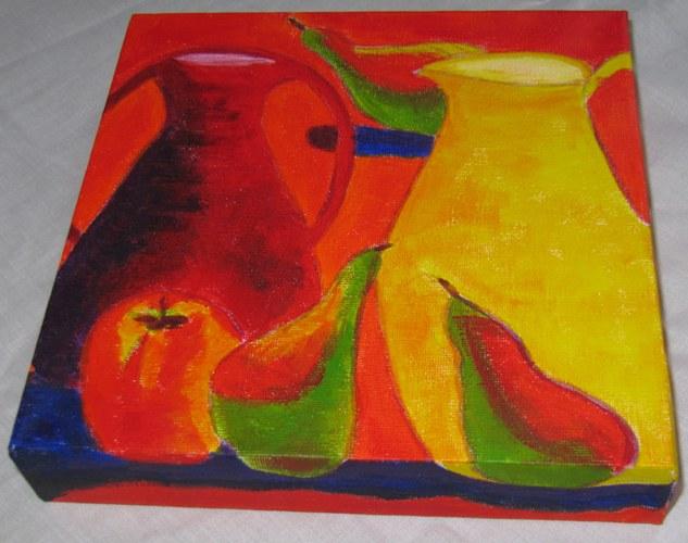 Acrylic on Canvas - 20 x 20cm