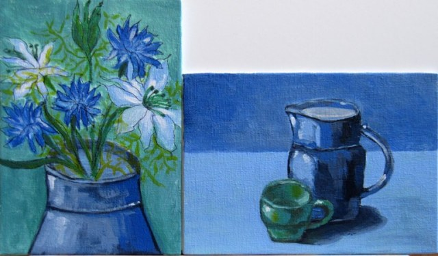 "Acrylic on Canvas Board - 5 x 7"""
