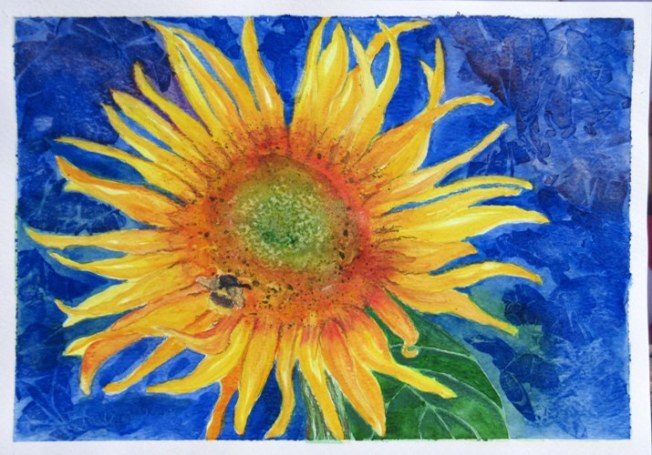 Watercolor and Aquarelles on Paper - A4